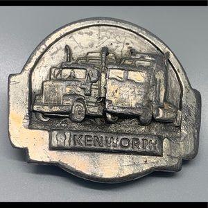 Rare 1985 Kenworth Trucks Belt Buckle